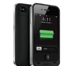 Mophie Juice Pack Air for iPhone 4/4S Black