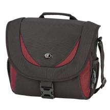 Tamrac 5723 Zuma 3 Photo/iPad Shoulder Bag (Black/Burgundy)