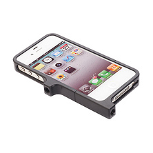 Aluminum Case for iPhone 4 & 4S (Black) Image 0