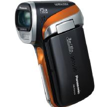 Panasonic HX-WA2 High Definition Waterproof Camcorder (Orange)