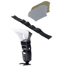 LumiQuest Bounce Kit with Ultra Strap for Shoe Mount Flashes