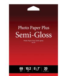 Canon Photo Paper Plus Semi-Gloss Inkjet Paper 5 x 7in (20 Sheets)