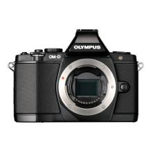 Olympus OM-D E-M5 Micro Four Thirds Digital Camera Body (Black)