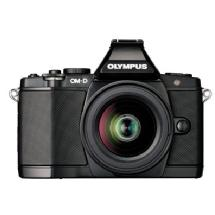Olympus OM-D E-M5 Micro Four Thirds Digital Camera with 14-42mm Lens (Black)
