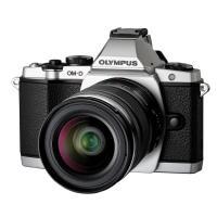 Olympus | OM-D E-M5 Micro Four Thirds Digital Camera with 12-50mm Lens (Silver) | V204045SU000