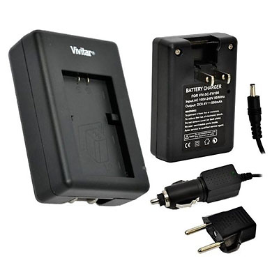 1 Hour Rapid Charger for Canon BP-110 Battery Image 0
