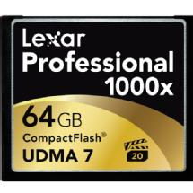 Lexar Media 64GB Professional 1000x Compact Flash Card