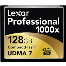 Lexar Media 128GB Professional 1000x CompactFlash Card