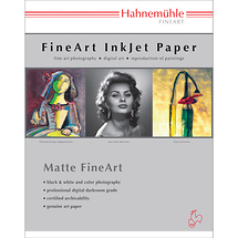 Hahnemuhle Torchon Matte FineArt Paper (8.5 x 11 in.) - 25 Sheets