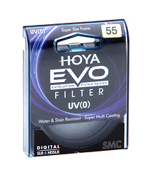 Hoya 55mm EVO UV (0) Filter