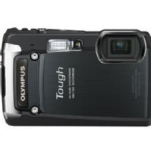 Olympus Tough TG-820 iHS Digital Camera (Black)