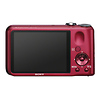 Sony DSC-H90 Cyber-shot Digital Camera (Red)