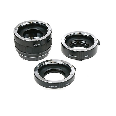 Auto Extension Tube Set DG (12, 20 & 36mm Tubes) Image 0