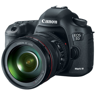 EOS 5D Mark III Digital SLR Camera with 24-105mm Canon Lens Image 0