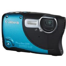 Canon PowerShot D20 Digital Camera (Blue)