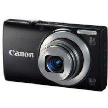 Canon PowerShot A4000 IS Digital Camera (Black)