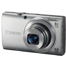 Canon PowerShot A4000 IS Digital Camera (Silver)