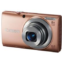 Canon PowerShot A4000 IS Digital Camera (Pink)
