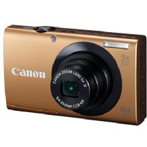 Canon PowerShot A3400 IS Digital Camera (Gold)