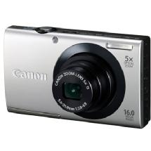 Canon PowerShot A3400 IS Digital Camera (Silver)