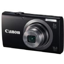 Canon PowerShot A2300 Digital Camera (Black)