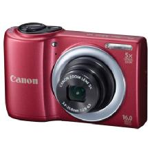 Canon PowerShot A810 Digital Camera (Red)