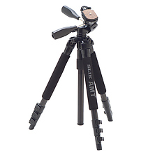 Pro 340DX Tripod (Black) with 3-Way Pan/Tilt Head (Quick Release) Image 0