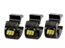 Redrock Micro microTie Cable Organizer - 3 Pack (Nikon Gold - Limited Edition)