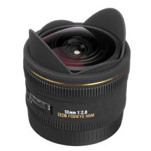 Sigma 10mm f/2.8 EX DC HSM Fisheye Lens for Canon