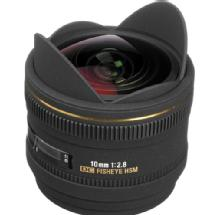 Sigma 10mm f/2.8 EX DC HSM Fisheye Lens for Sony Alpha Camera