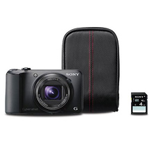 Sony DSC-H90 Cyber-shot Digital Camera Bundle (Black)