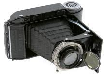 Voigtlander Bessa RF Medium Format 6x9 Folding 120 Camera W/ 105mm F/3.5 Heliar Lens (Used)