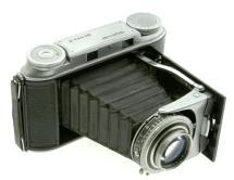 Voigtlander Bessa II Medium Format 6x9 Folding 120 Camera W/ 105mm F/3.5 Color Skopar Lens (Used)