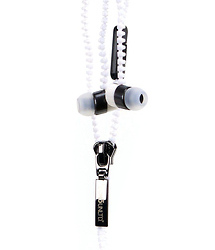 Ecko Unlimited Zip Earbud (White)