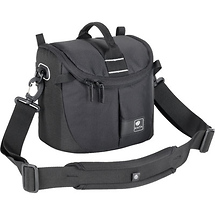Kata Lite-437 DL Shoulder Bag for a DSLR with Standard Zoom in Shooting Position or Handycam (Black)