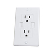 Power2U AC/USB Wall Outlet