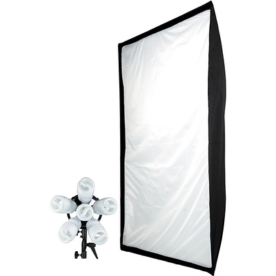 Spiderlite TD6 Daylight 36x48 in. Shallow Softbox Kit (1200 W) Image 0
