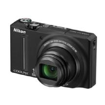 Nikon Coolpix S9100 Digital Camera (Black) - Refurbished
