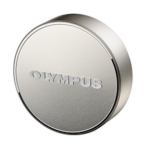 Olympus LC-61 Metal Front Lens Cap for 75mm f/1.8 Micro 4/3 Lens - Silver