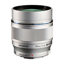 M. Zuiko Digital ED 75mm f/1.8 Lens for Micro 4/3 Cameras Image 0