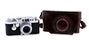 Leica IIIG Rangefinder w/50mm f2.8 Elmar Lens & Original Leather Case (Used)