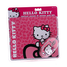 Hello Kitty Mouse and Mousepad Kit