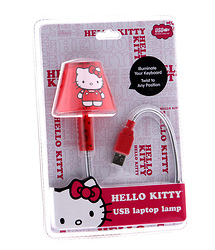 Hello Kitty USB Gooseneck Lamp
