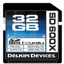 Delkin Devices 32GB SD 600X UHS-I Memory Card