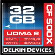 32GB CF 500X UDMA Memory Card