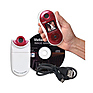 Vstyle Swivel Shot Digital Camera (White/Red) Thumbnail 2