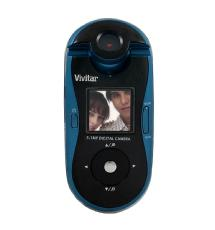Vivitar Vstyle Swivel Shot Digital Camera (Black/Blue)