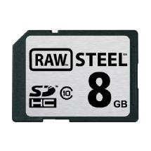 Hoodman 8GB SDHC Memory Card RAW STEEL Class 10 UHS-1