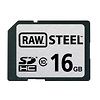 Hoodman   16GB SDHC Memory Card RAW STEEL Class 10 UHS-1   RAWSDHC16GBU1