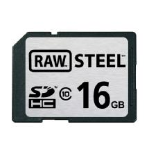 Hoodman 16GB SDHC Memory Card RAW STEEL Class 10 UHS-1